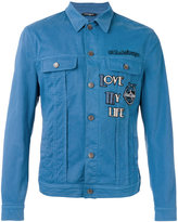Dolce & Gabbana Good Times patch denim jacket - men - Cotton/Spandex/Elastane - 48