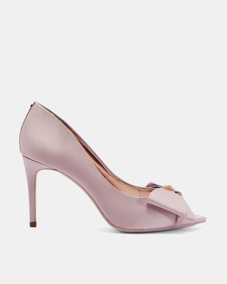 Ted Baker Bow Trim Peep Toe Courts