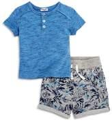 Splendid Boys' Henley Tee & French Terry Shorts Set - Baby