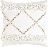 Hand-Embellished Crisscross Pillow