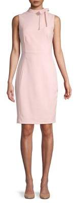 Calvin Klein Highneck Sheath Dress