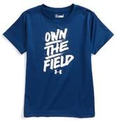 Under Armour Boy's Own The Field Heatgear T-Shirt