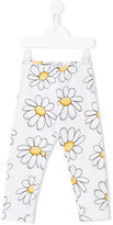 MonnaLisa daisy print leggings - kids - Cotton/Spandex/Elastane - 2 yrs
