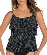 Miraclesuit Pin Point Tiered Tankini