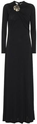 Co Embellished crepe maxi dress
