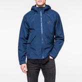 Paul Smith Men's Navy Lightweight Waterproof Hooded Jacket