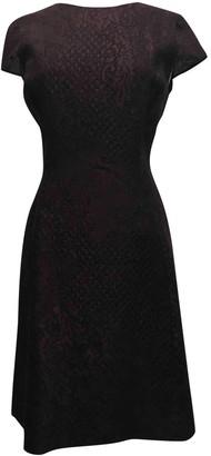 Carolina Herrera Burgundy Dress for Women
