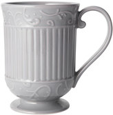 Mikasa Italian Countryside Accents Scroll Grey Mug
