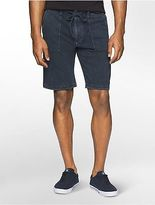 Calvin Klein Mens Heathered Terry Lounge Shorts