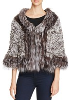 Maximilian Furs Knit Chinchilla Stole - 100% Exclusive