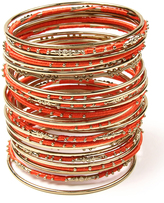 Amrita Singh Orange Goa Bangle Set