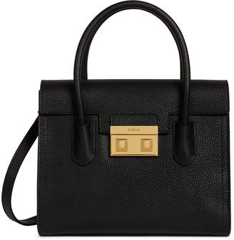 Furla Bella Small Leather Satchel Bag