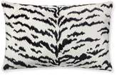 Williams-Sonoma Williams Sonoma Scalamandre Tiger Lumbar Pillow Cover, White
