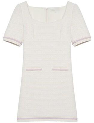 Maje Ranessa Short Tweed Dress