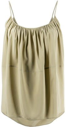 Chloé Pleated Silk Camisole