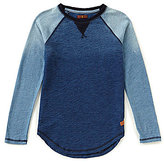7 For All Mankind Big Boys 8-20 Long-Sleeve Colorblock Tee