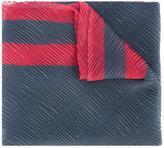 Emporio Armani ribbed detail scarf