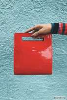 Forever 21 Faux Patent Leather Clutch