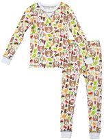 Cuddl Duds Toddler Boy Print Thermal Top & Leggings Set