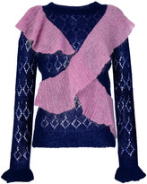 Manoush ruffled front jumper