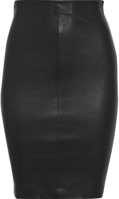Walter Baker Mae Leather Mini Skirt