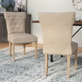 Laurèl Schueller Upholstered Dining Chair Foundry Modern Farmhouse
