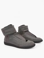 Maison Margiela Glitter Future Hi-Top Sneakers