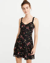 Abercrombie & Fitch A&F Women's Button-Front Dress in Black - Size L