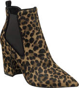 Marc Fisher Tacily Leopard Chelsea Booties