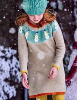 Boden Festive Fair Isle Dress
