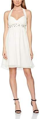 My Evening Dress Women's Emily Knee-Length Plain Halterneck Dress, (Manufacturer Size: 50)