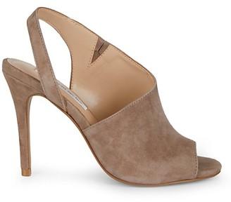 Saks Fifth Avenue Raymond Cutout Suede Slingback Sandals