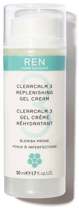 REN Clearcalm 3 Replenishing Gel Cream, 1.7 oz./ 50 mL