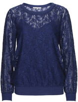 Gold Hawk Swiss Lace Pullover