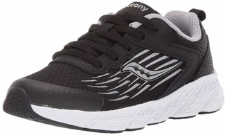 Saucony unisex child Wind Sneaker
