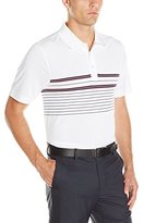 Cutter & Buck Men's Cb Drytec Destination Chest Stripe Polo
