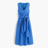J.Crew Wrap dress in cotton poplin