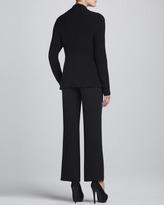 Eileen Fisher Silk Sheen Jacquard Jacket