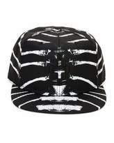 Marcelo Burlon County of Milan Starter Villarrica Bone-Print Cap, Black/White
