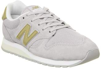 New Balance 520 Trainers Light Cashmere Classic Gold