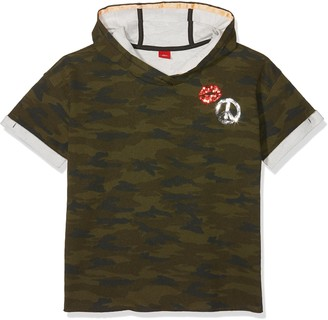 S'Oliver Girls' 66.803.42.7647 Sweatshirt