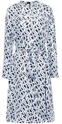 Marni Printed Silk-twill Dress