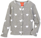 Joe Fresh Heart Sweater (Toddler & Little Girls)