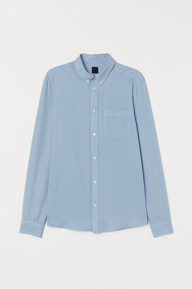 H&M Slim Fit Lyocell-blend Shirt