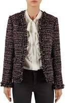 Gerard Darel Olympia Fringed Tweed Jacket