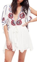 Free People Women's Cora Embroidered Minidress