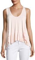 On the Road Aviana Jersey Tank, Pink