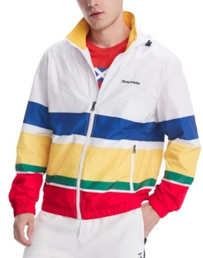Tommy Hilfiger Men's Weekender Striped Water-Resistant Yacht Jacket