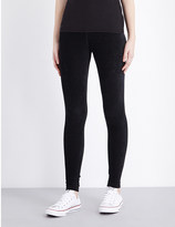 James Perse High-rise corduroy leggings