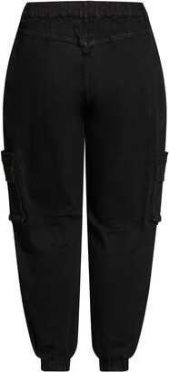 City Chic Relaxed Cargo Jeans
